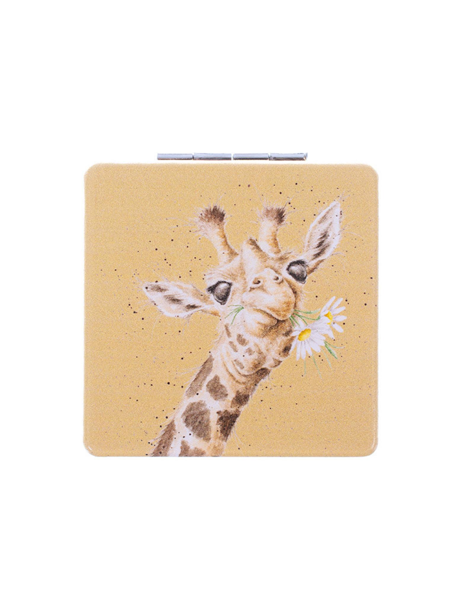Wrendale Spiegeltje - Giraffe Flowers