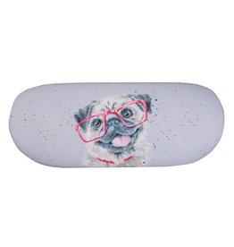 Wrendale Brillendoos - Pug Louie