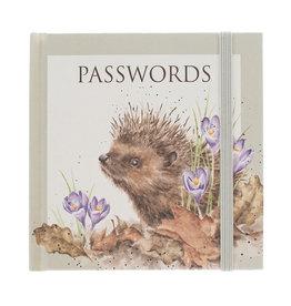 Wrendale Notitieboekje - Paswoorden - Egel