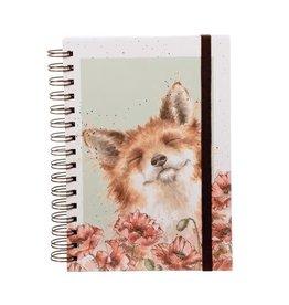 Wrendale Notitieboek - Poppy Fields A5