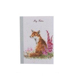 Wrendale Notitieboekje - Fox A6