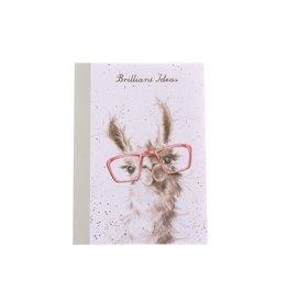 Wrendale Notitieboekje - No Prob-Lama A6