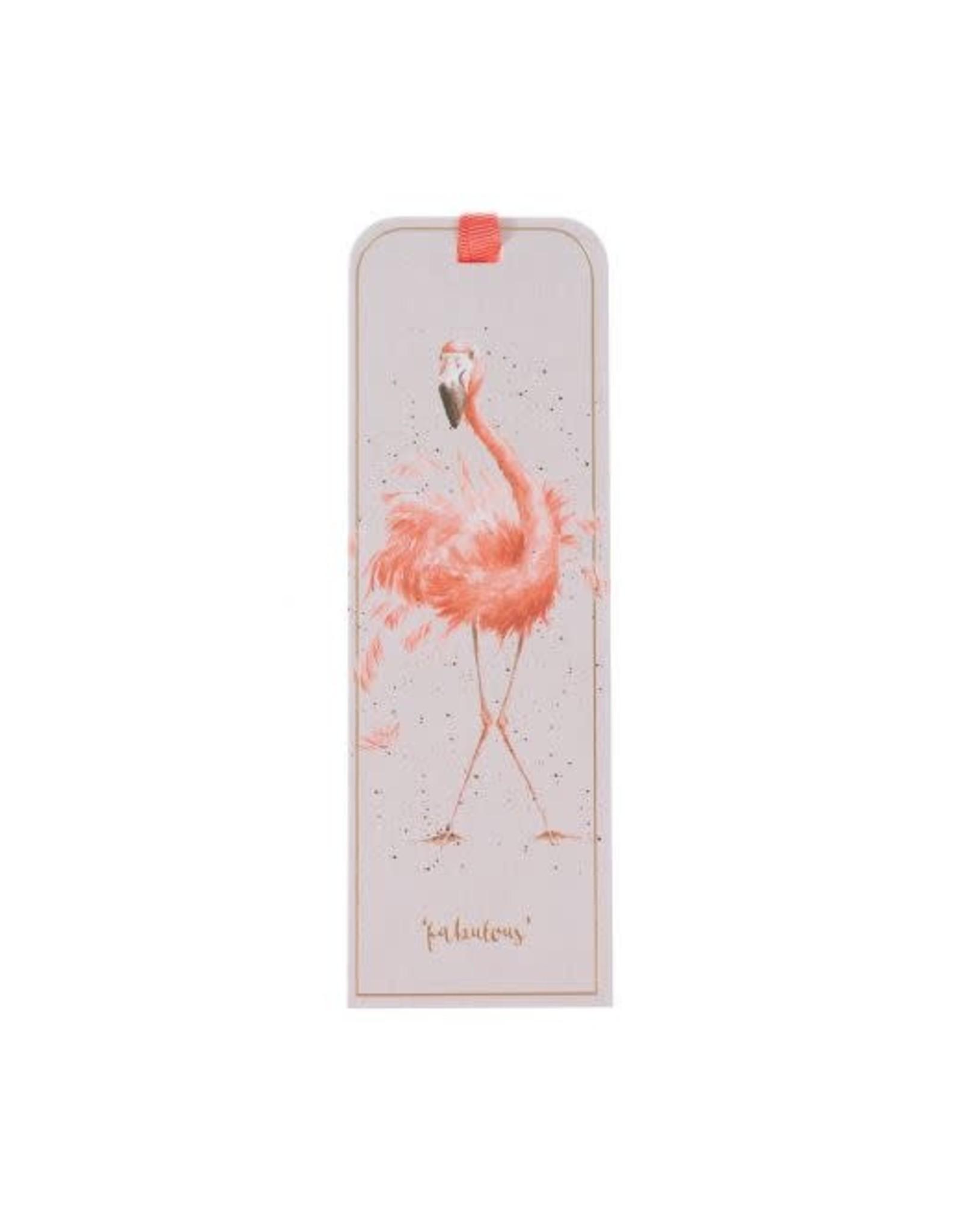 Wrendale Bladwijzer - Flamingo