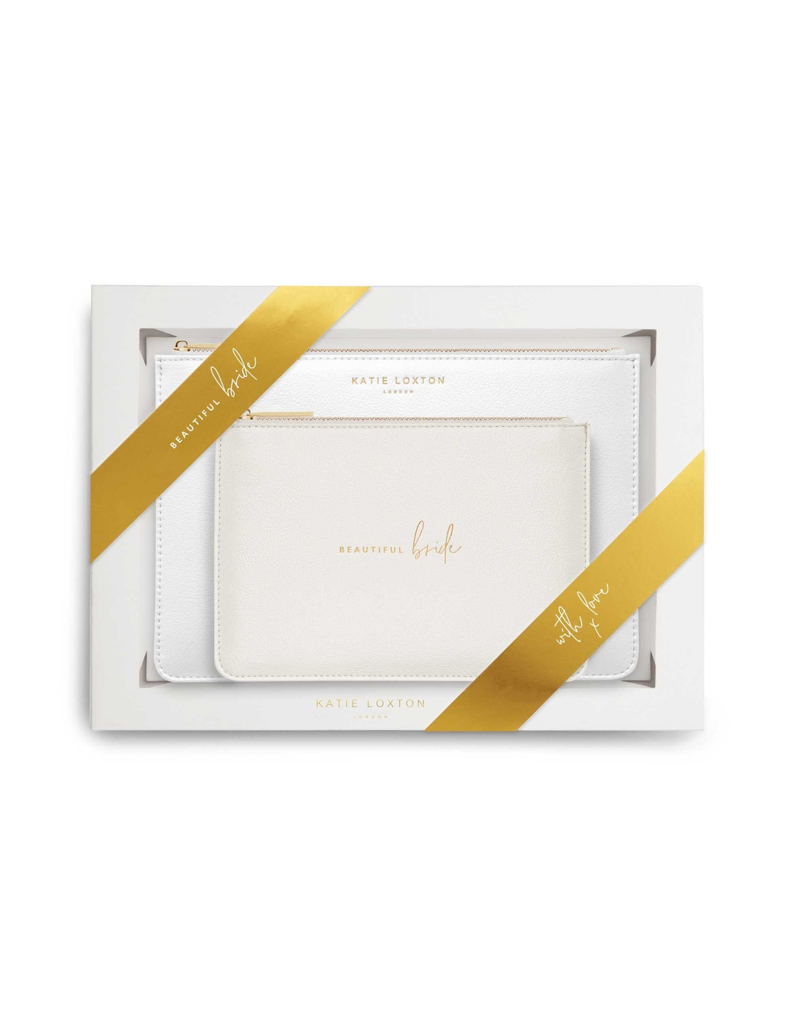 Katie Loxton Perfect Pouch Giftset - Beautiful Bride