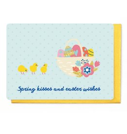 Enfant Terrible Wenskaart - Spring Kisses and Easter Wishes