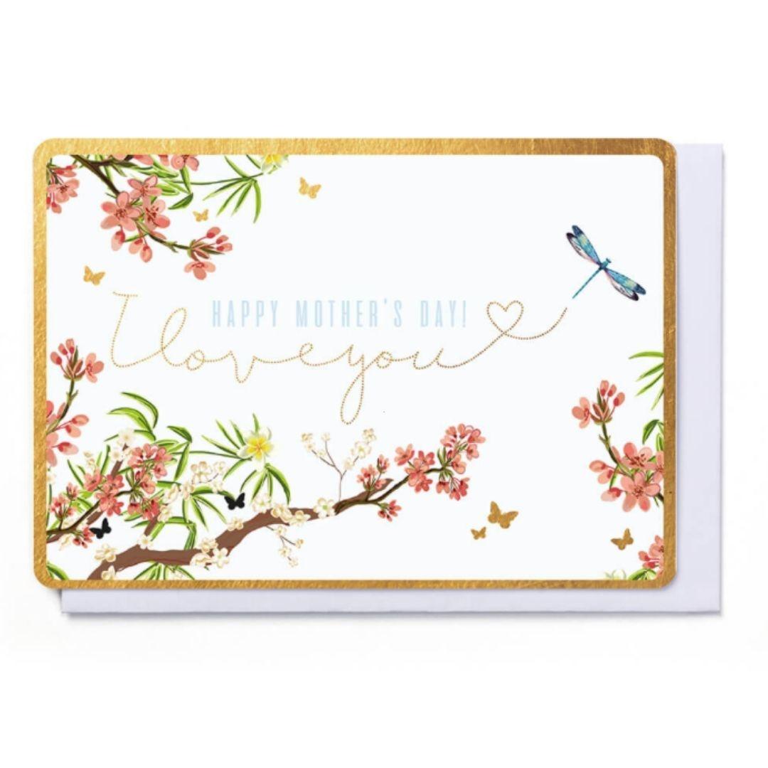 Enfant Terrible Wenskaart - Happy Mother's Day - I Love You