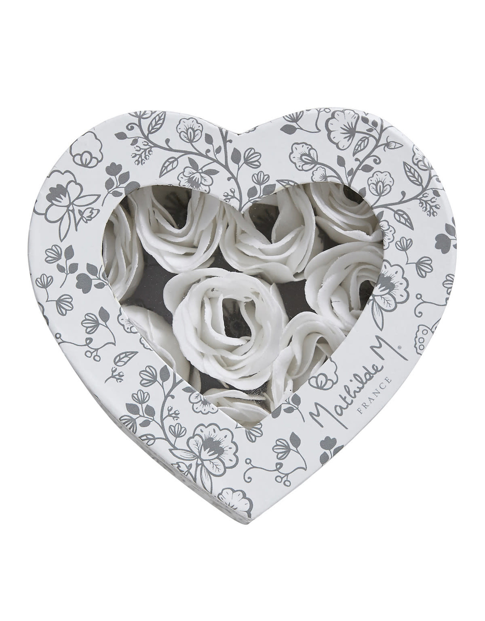 Mathilde M Rose - Zeepbloemen Giftbox
