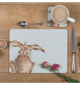Wrendale Onderleggers set van 4 - Hare Brained