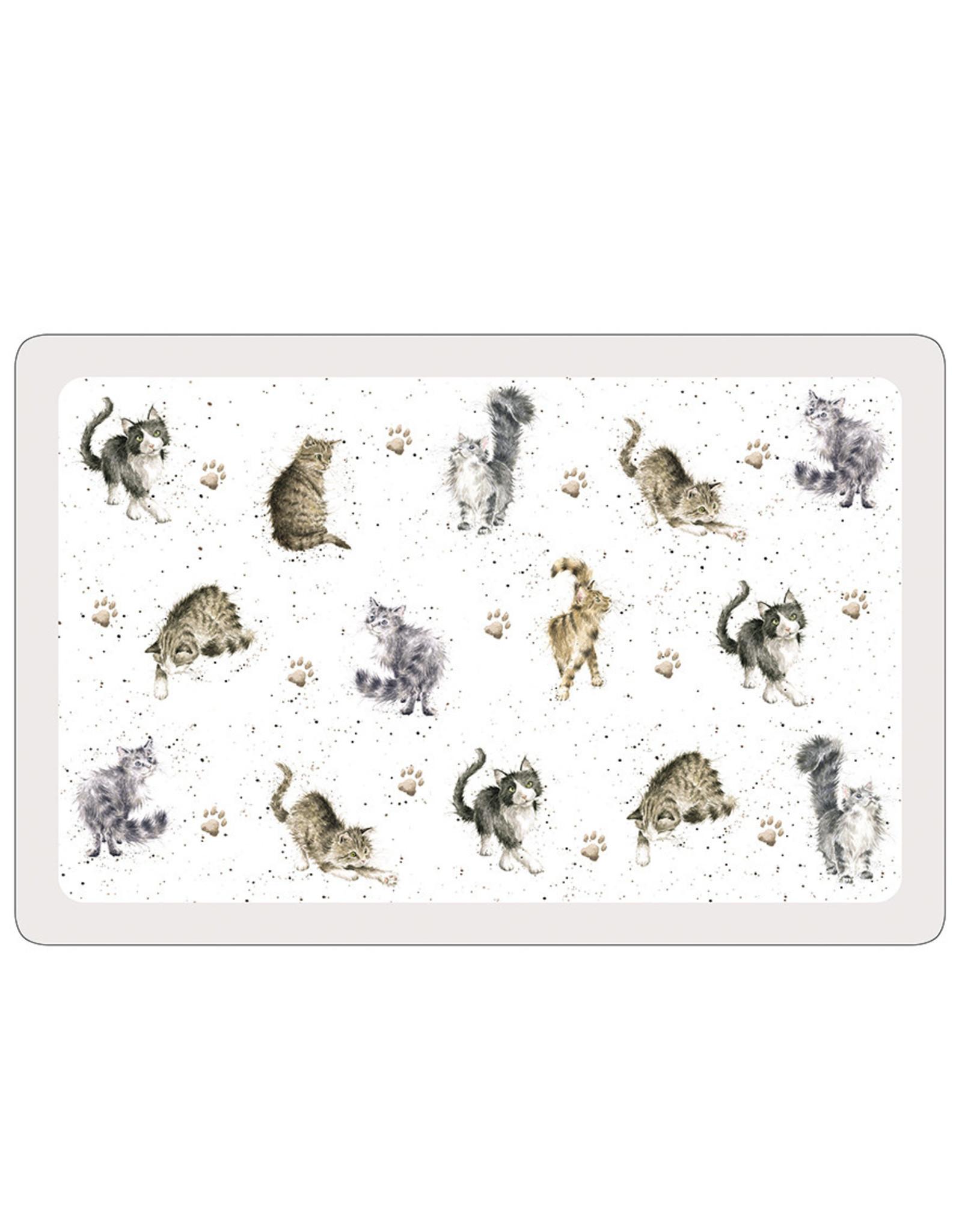 Wrendale Placemats - Cat - Set van 2