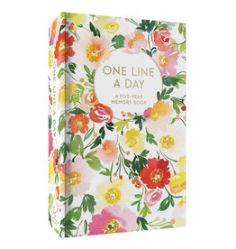 Chronicle Books Floral One Line a Day - A Five-Year Memory Book