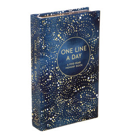 Chronicle Books Celestial One Line a Day - A Five-Year Memory Book