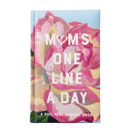 Chronicle Books Mom's Floral One Line a Day - A Five-Year Memory Book