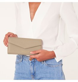 Katie Loxton Portefeuille - Esme Envelope - Always Spend in Style - Taupe