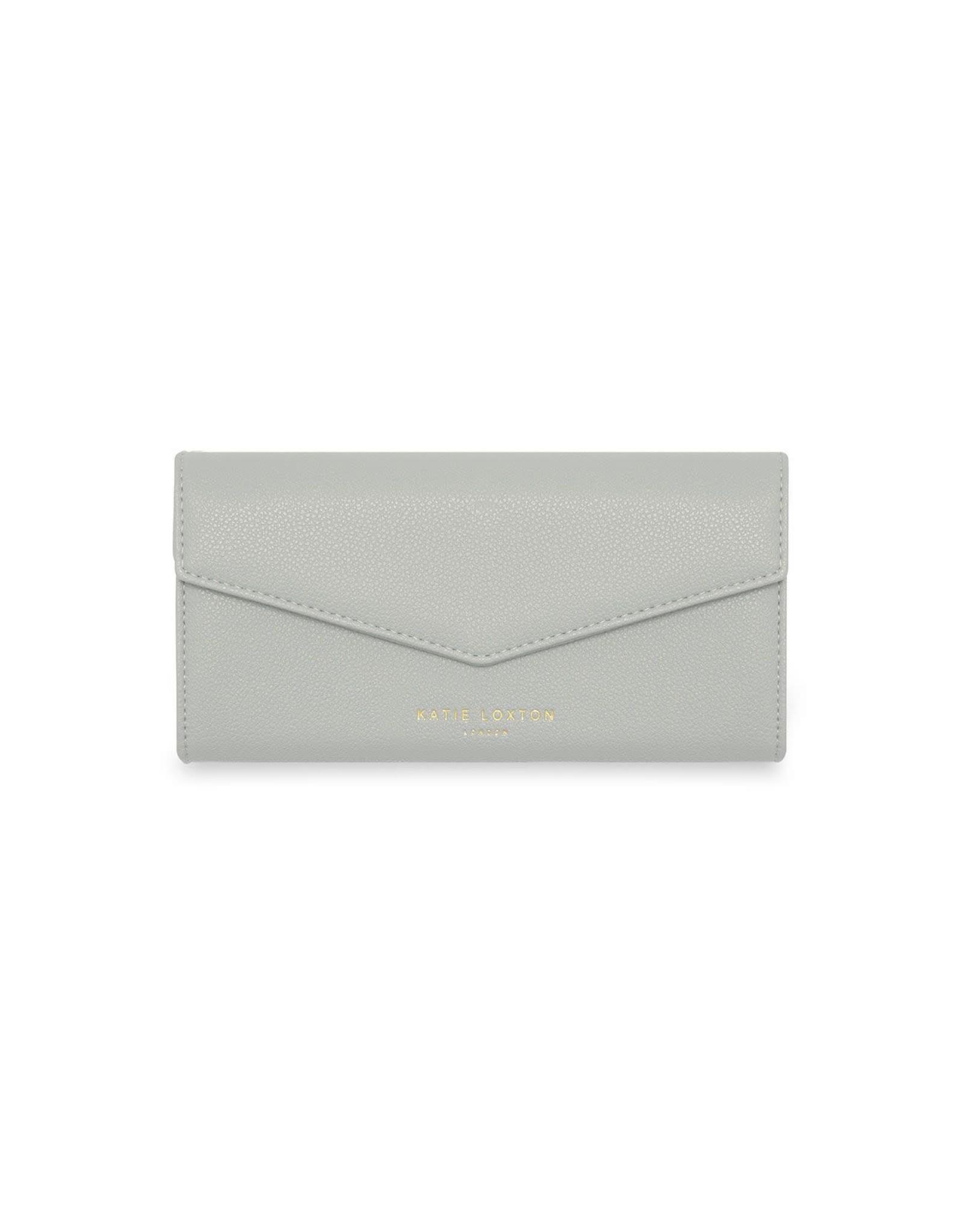Katie Loxton Portefeuille - Esme Envelope - Money Money Money - Grijs