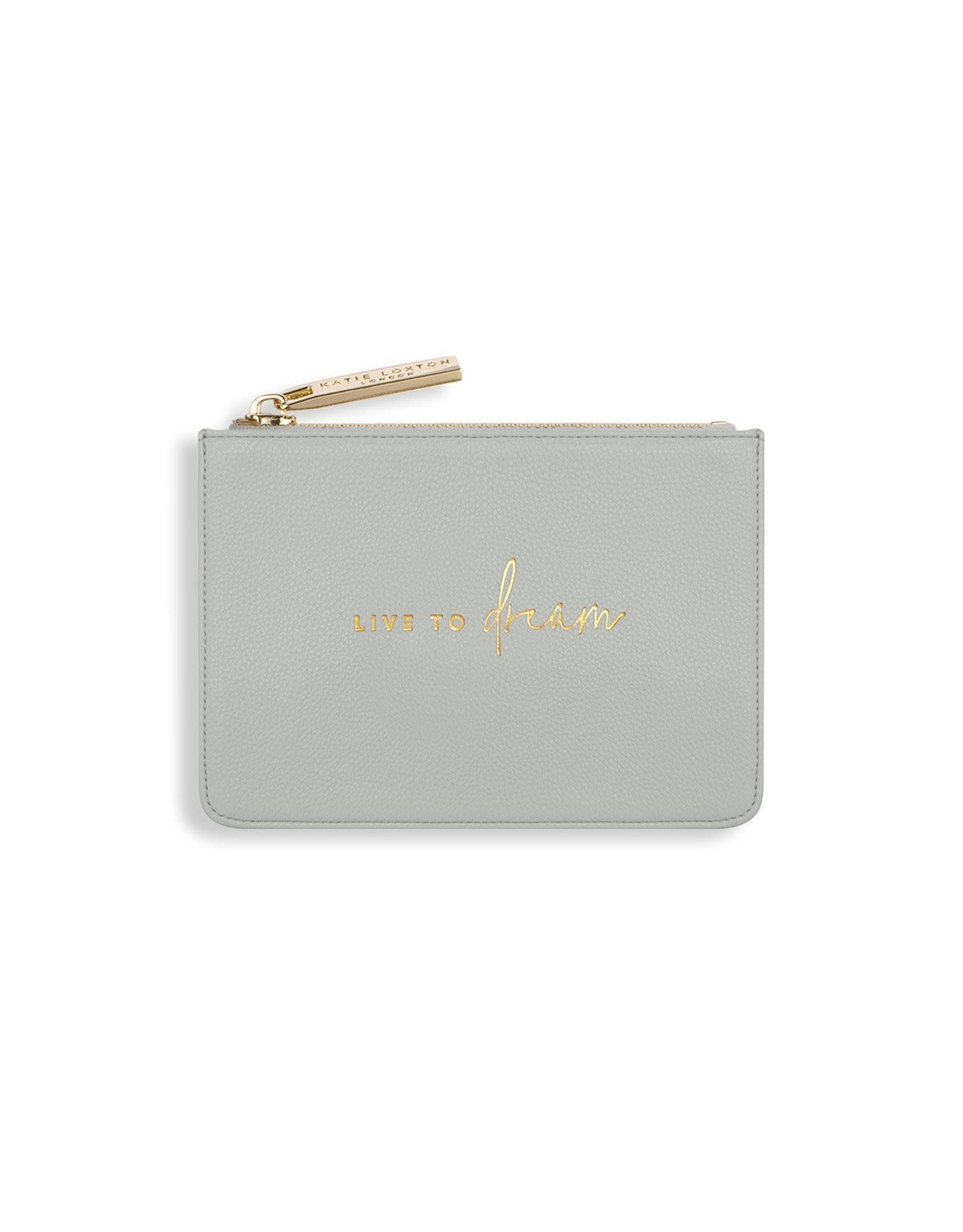 Katie Loxton Geldbeugel - Live to Dream - Grijs