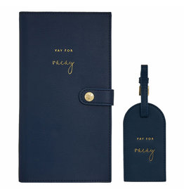 Katie Loxton Travelset - Yay for Vacay - Navy