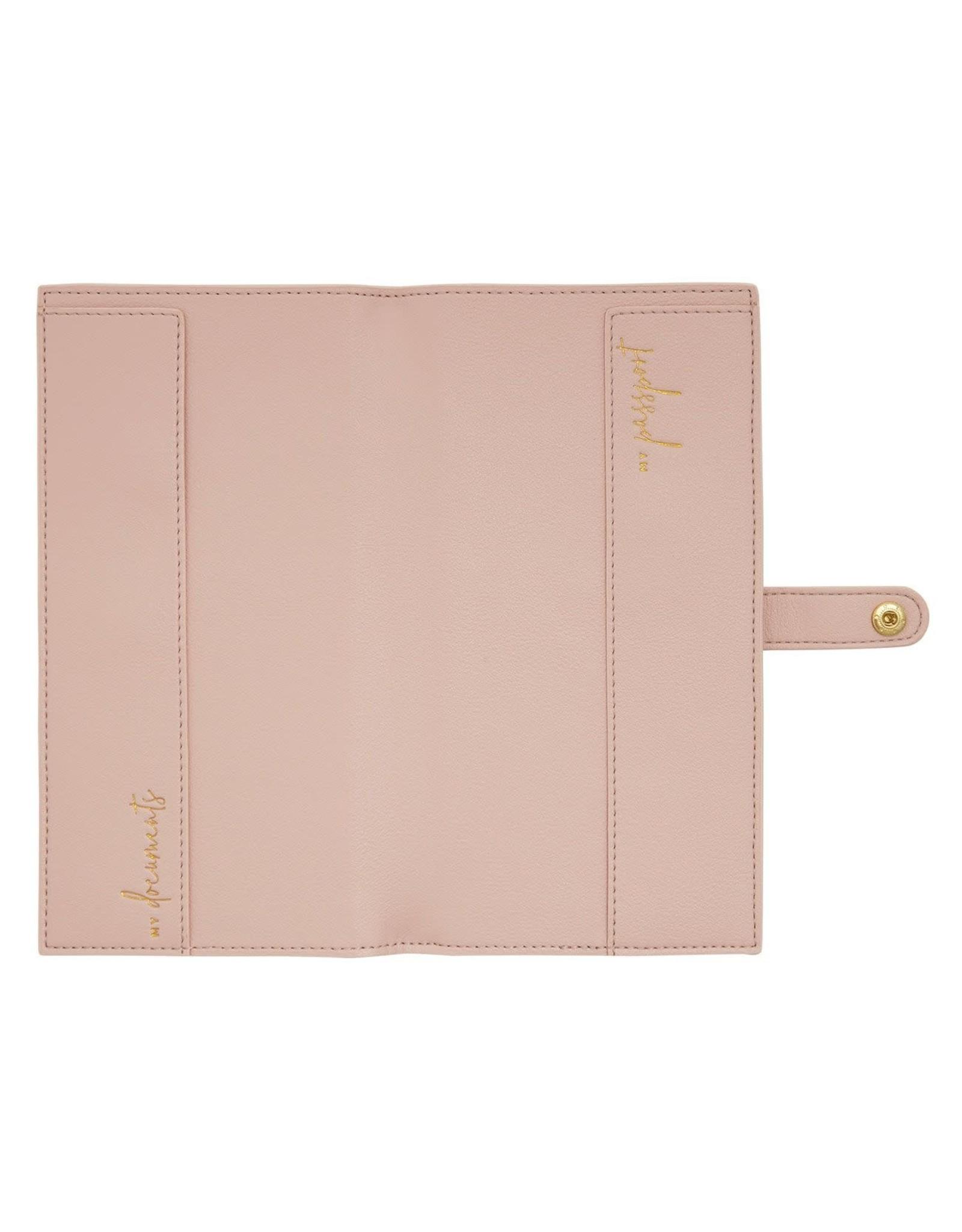 Katie Loxton Travelset - Live Love Sparkle - Pink