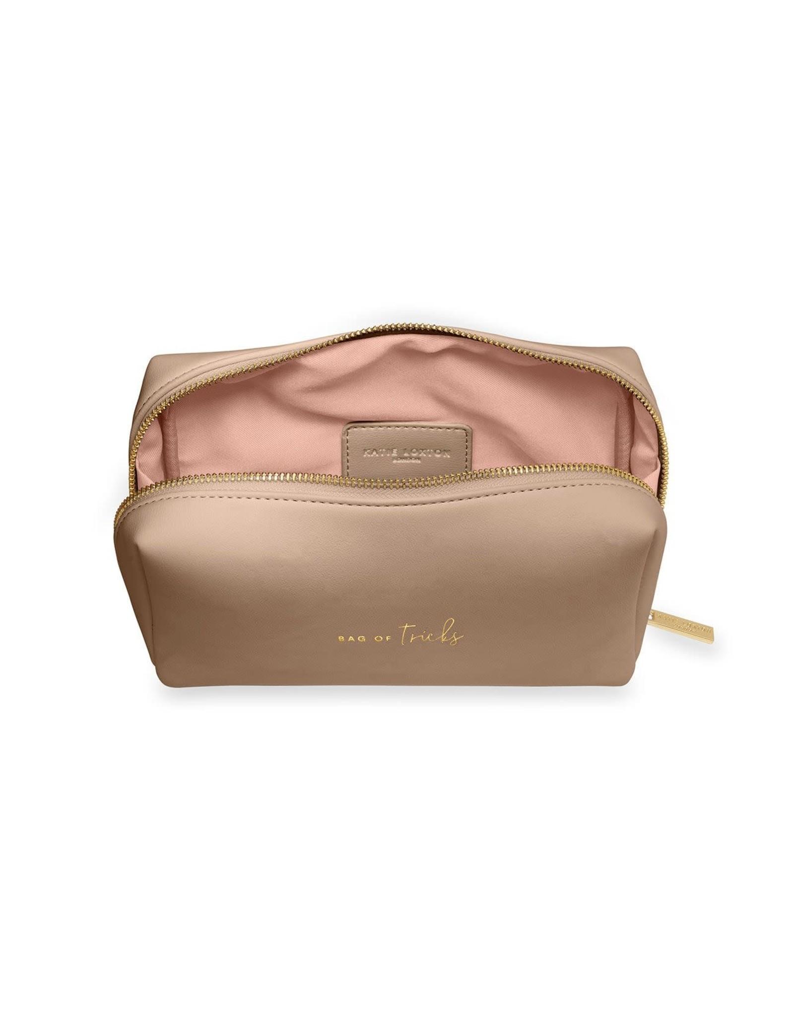 Katie Loxton Make-uptas - Bag of Tricks - Taupe