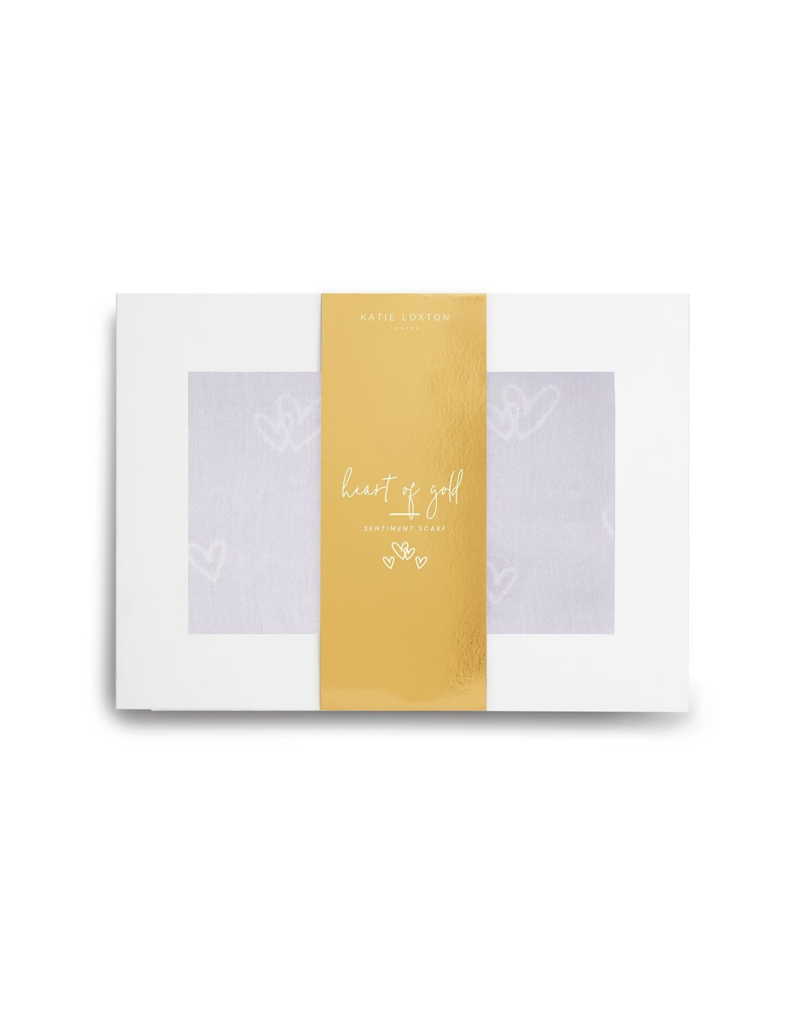 Katie Loxton Wrapped up in Love - Heart of Gold - Grijs