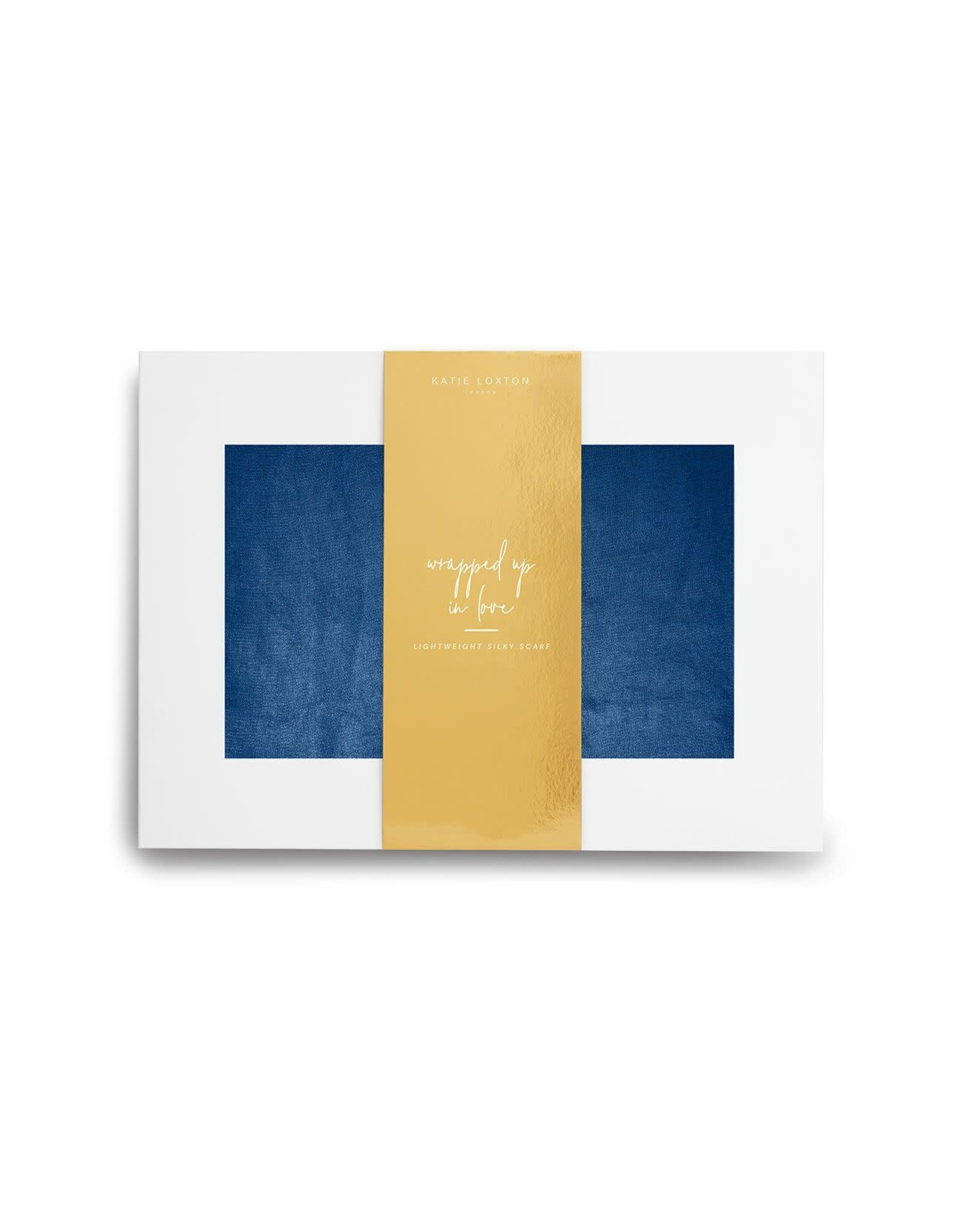 Katie Loxton Wrapped up in Love - Sjaal Navy