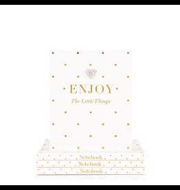 Hearts Design Notitieboek A6 - Enjoy the Little Things