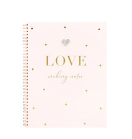 Hearts Design Notitieboek A4 - Love Making Notes