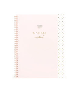 Hearts Design Notitieboek A4 - My Pretty Perfect Notebook