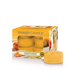 Yankee Candle Calamansi Cocktail - Tea Lights 12 st