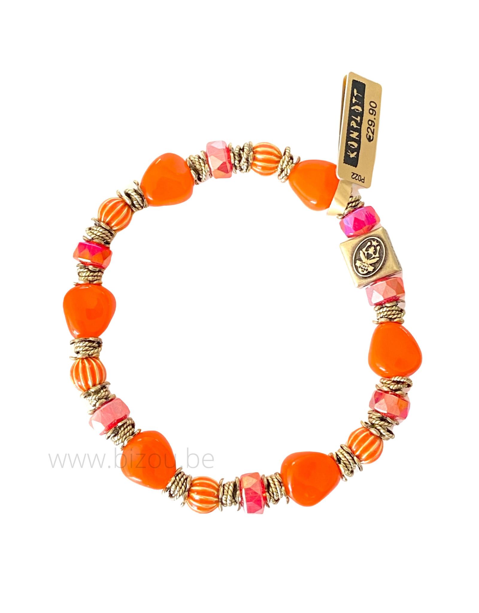 Konplott Tropical Candy - Orange - Armband