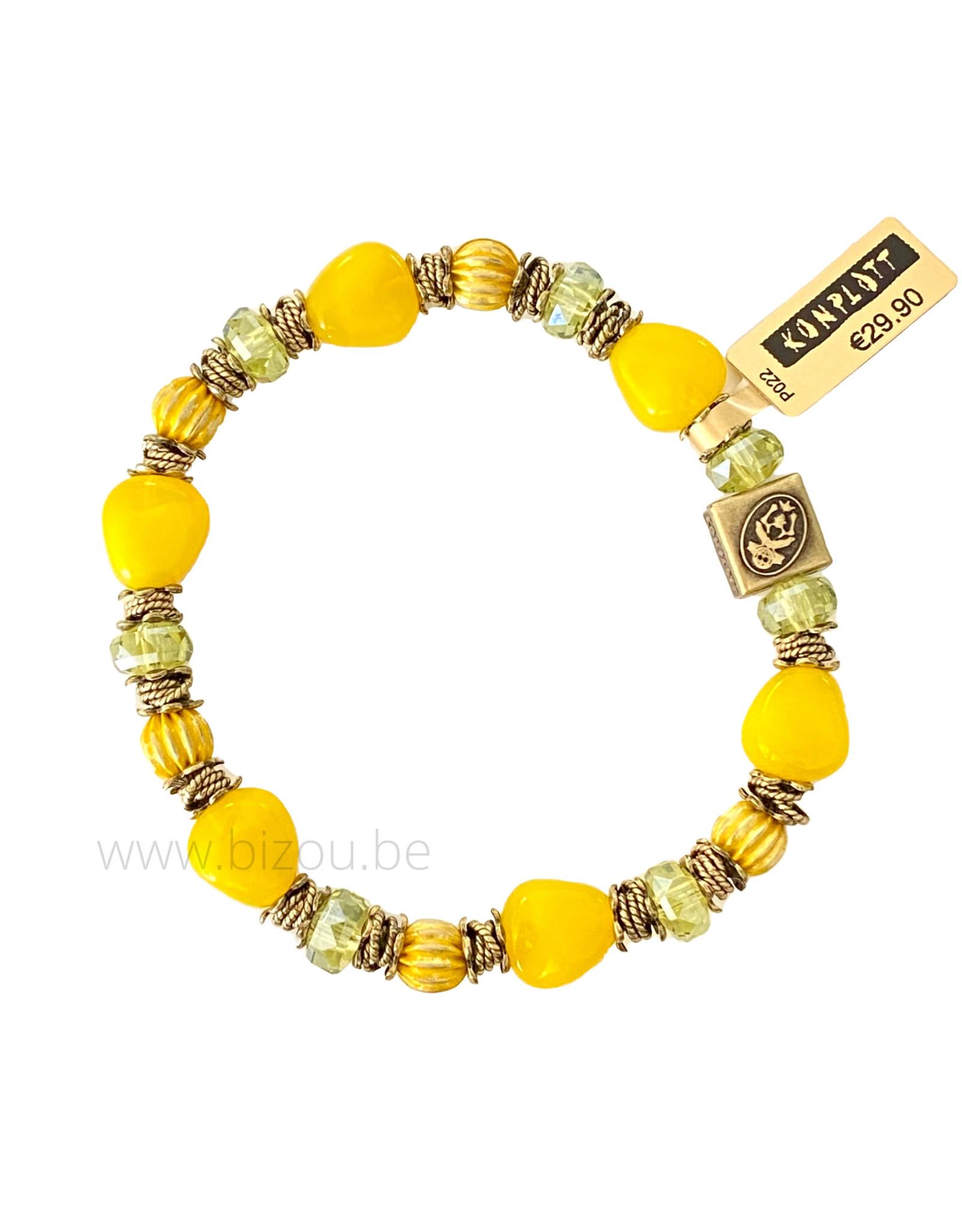 Konplott Tropical Candy - Yellow - Armband