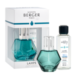 Lampe Berger Giftbox - Geometry Blauw