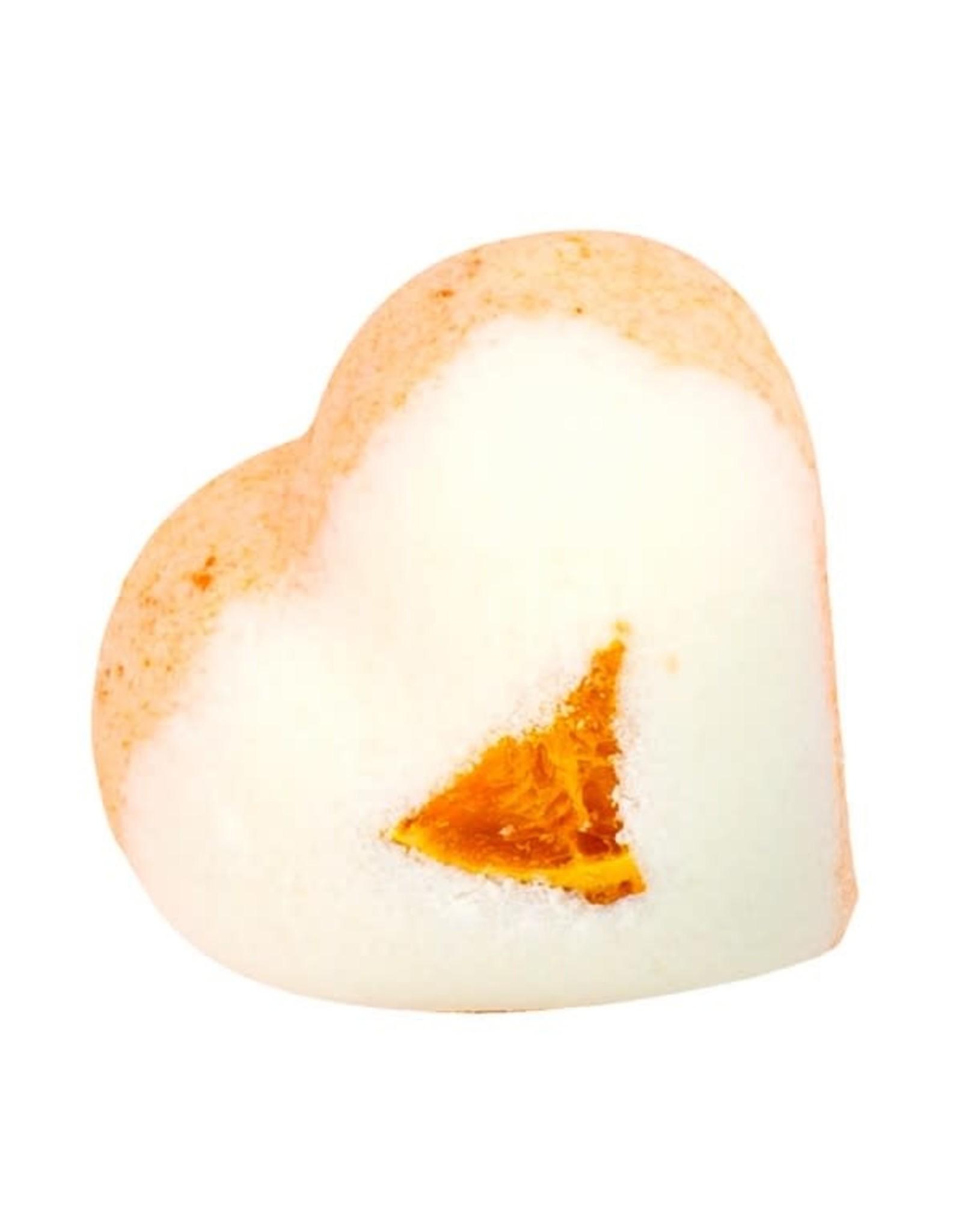 Badefee Bruisbal - Orange Heart