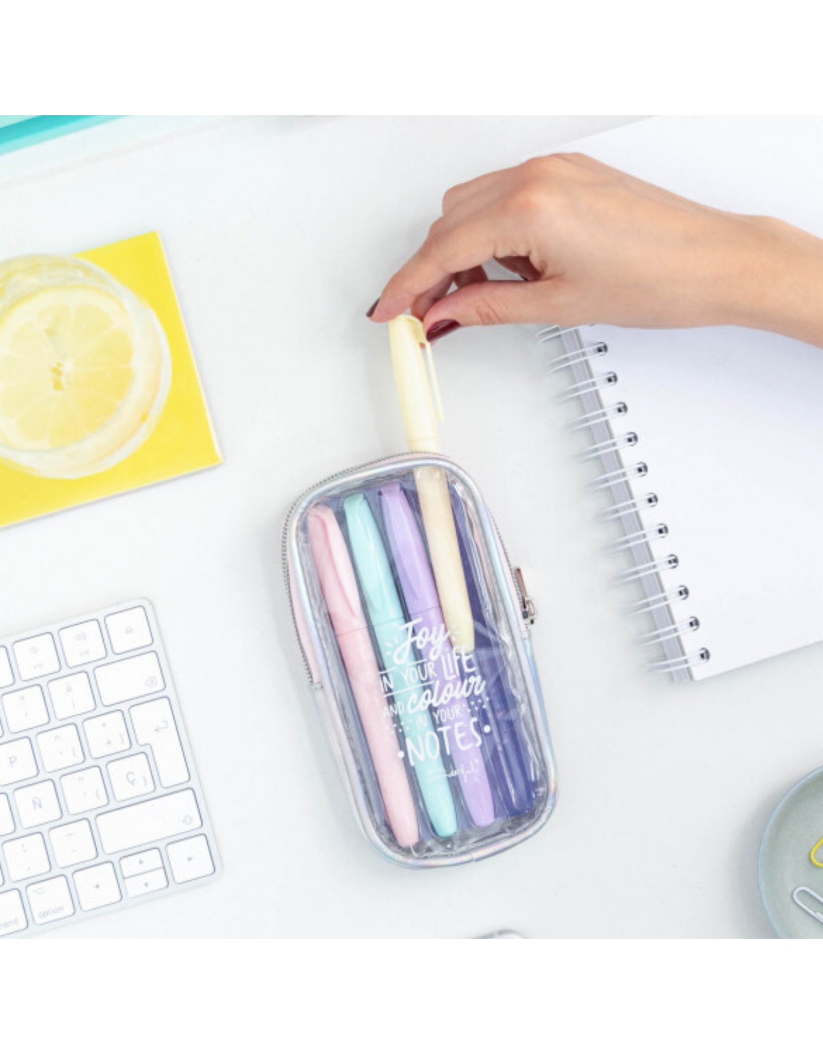 Mr Wonderful Highlighter set to Make your Notes shine even Brighter
