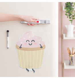 Mr Wonderful Magneetbord - Cupcake