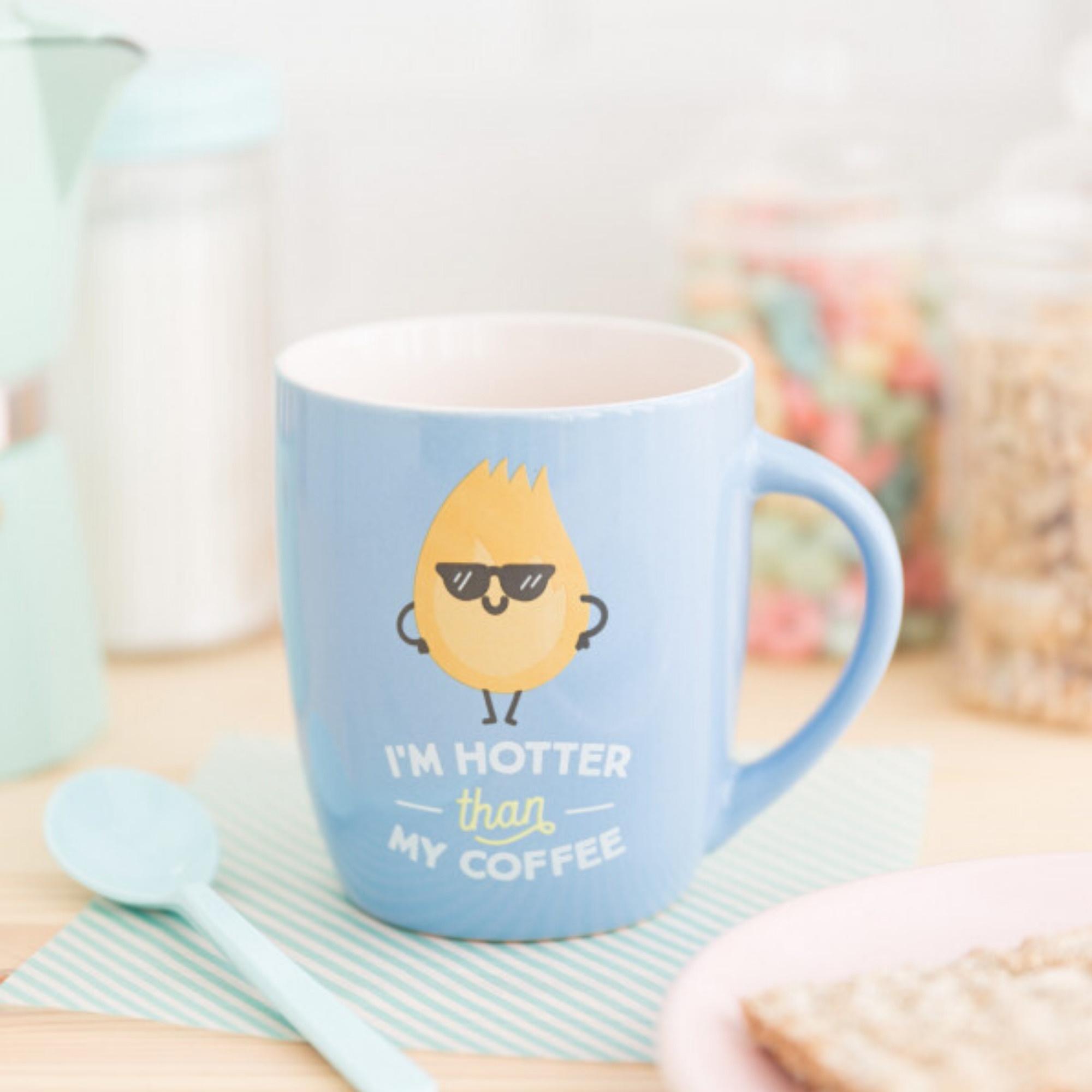 Mr Wonderful Mok - I'm Hotter than my Coffee