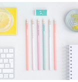 Mr Wonderful Set of 6 Pencils with Never-ending Batteries