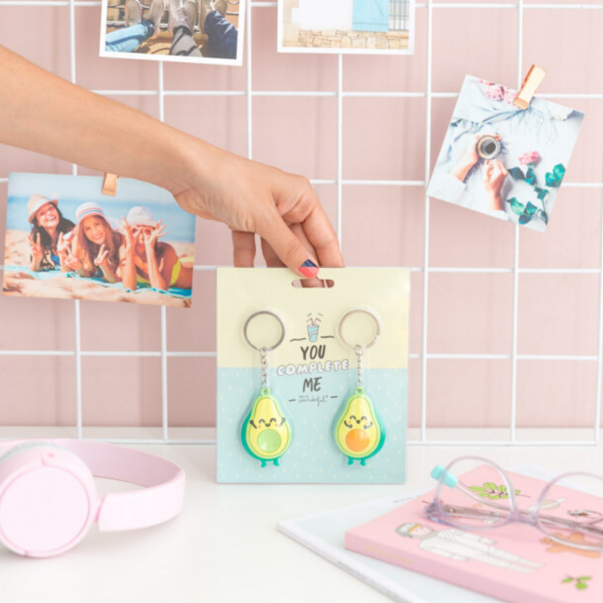 Mr Wonderful Sleutelhanger Set - For Friends who fit Perfectly