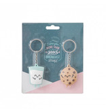 Mr Wonderful Sleutelhanger Set - For Sweet Couples
