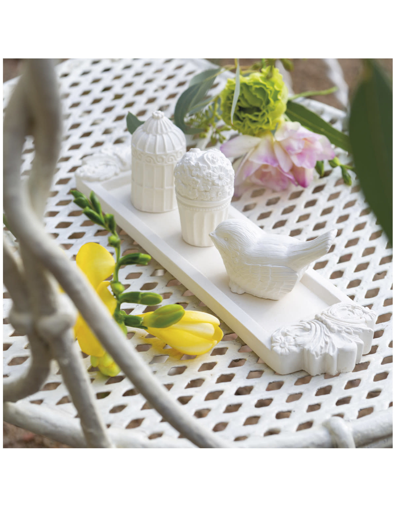 Mathilde M Jardins de Fantaisies - Box 3 miniaturen - Bouquet Précieux