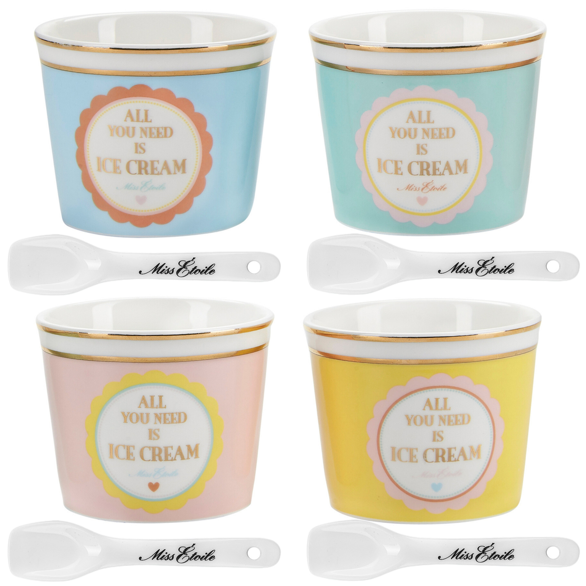 Miss Etoile Set - All you need is Ice Cream