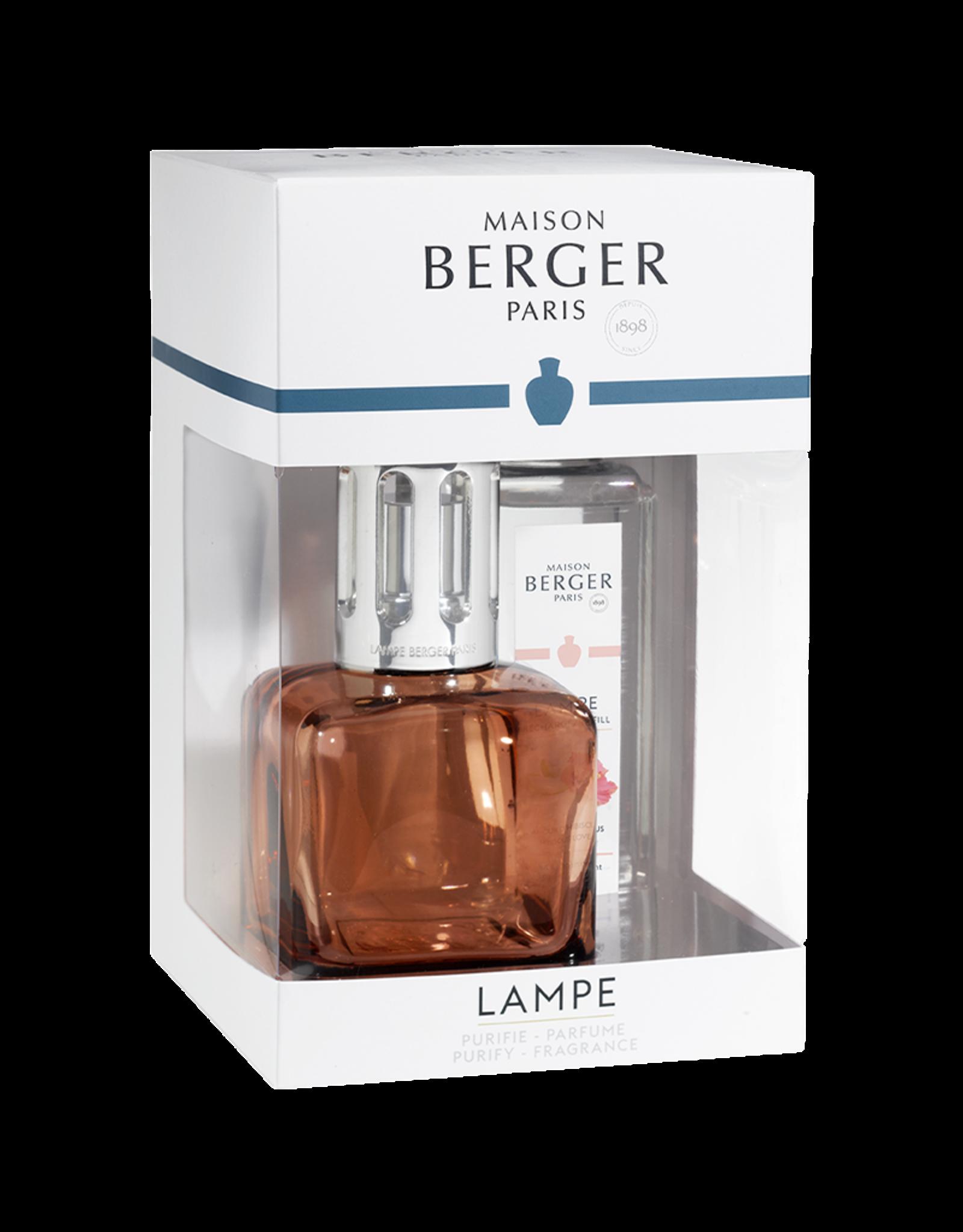 Lampe Berger Geurbrander Glaçon - Rose Ambré