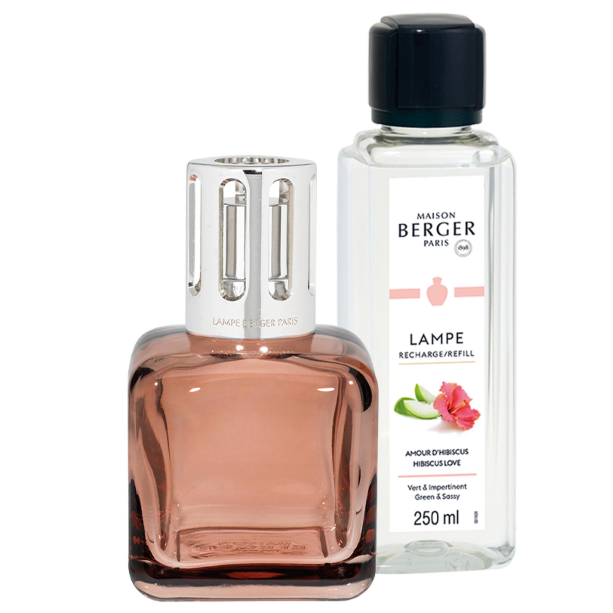 Lampe Berger Geurbrander - Glaçon - Rose Ambré