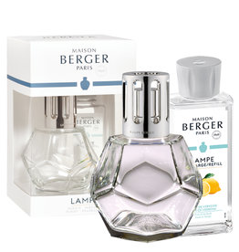 Lampe Berger Geurbrander - Giftbox - Geometry Transparante