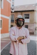 Fisura Mondmasker - Green & Pink Cheetah