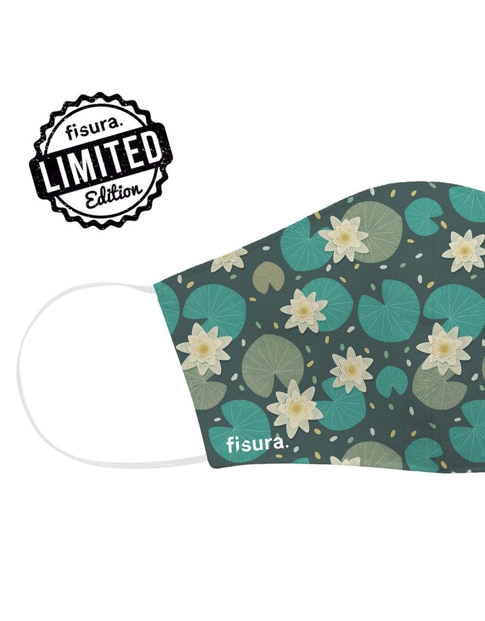 Fisura Mondmasker - Water Lilies