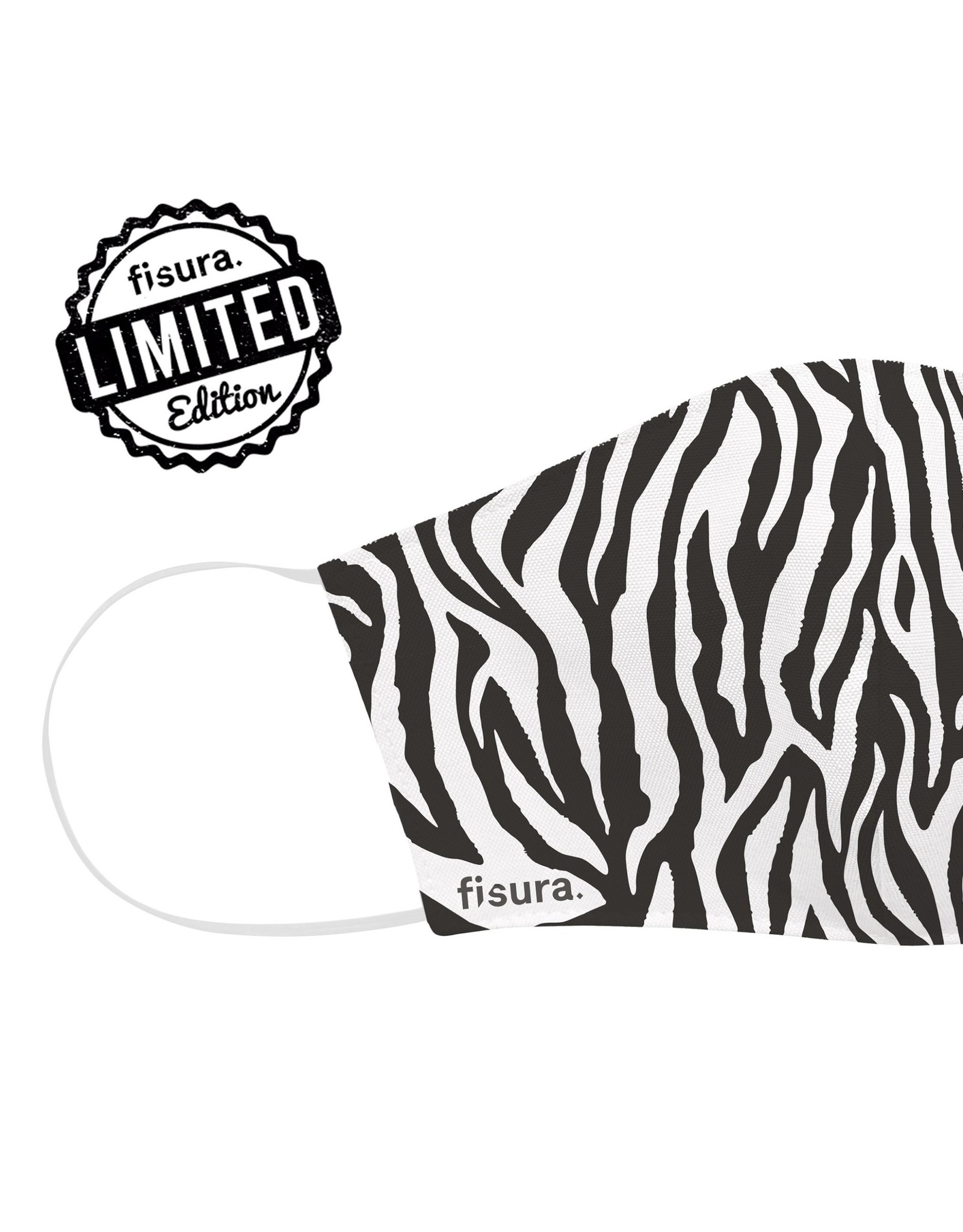 Fisura Mondmasker - Zebra