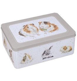 Wrendale Tin Box - Guinea Pigs