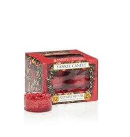 Yankee Candle Red Apple Wreath Tea Lights 12 st