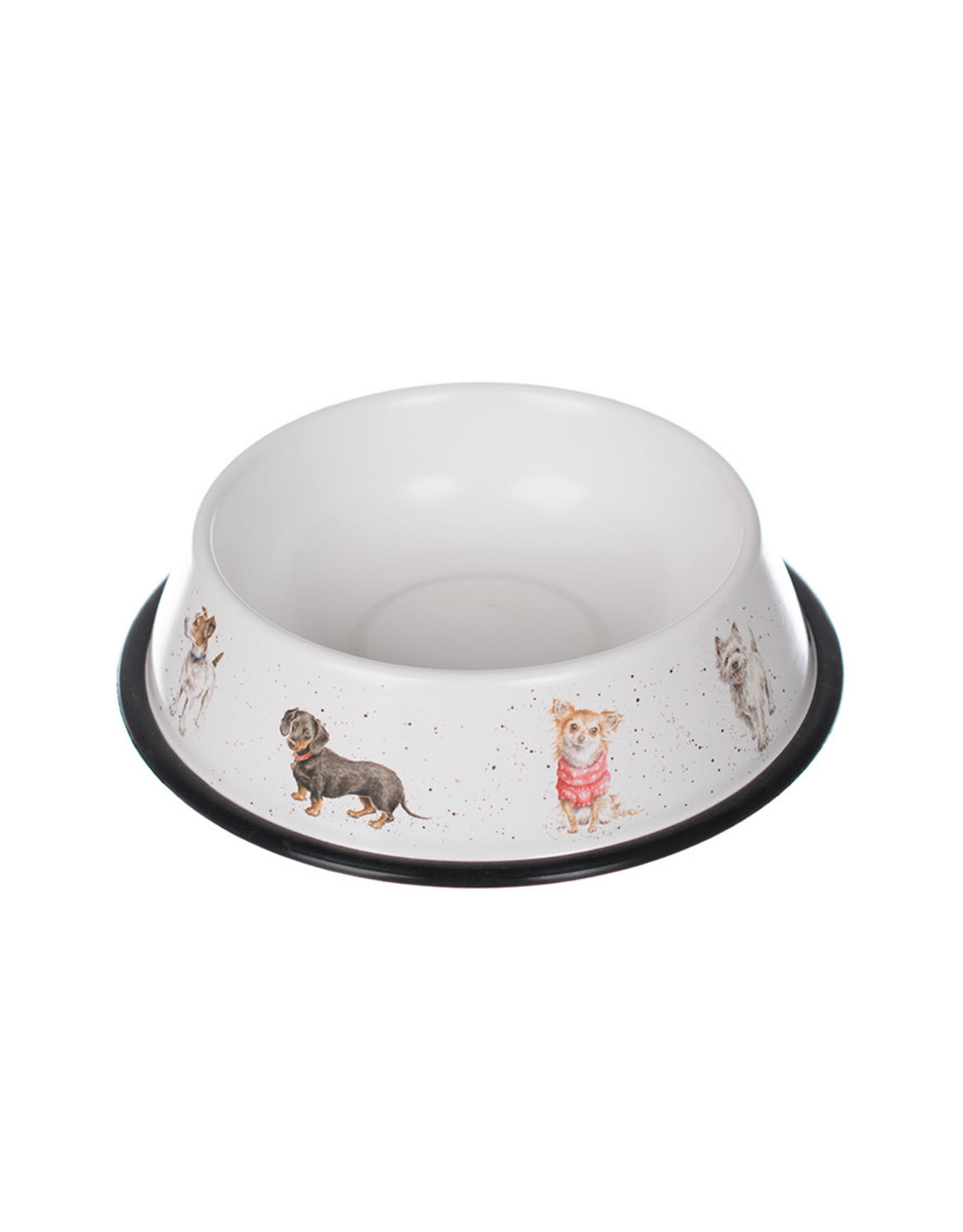 Wrendale Bowl Tin - Dog - 29cm