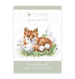 Wrendale Familieplanner 2021 - Country